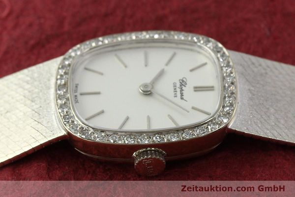 Used luxury watch Chopard * 18 ct white gold manual winding Kal. 846  | 142957 05