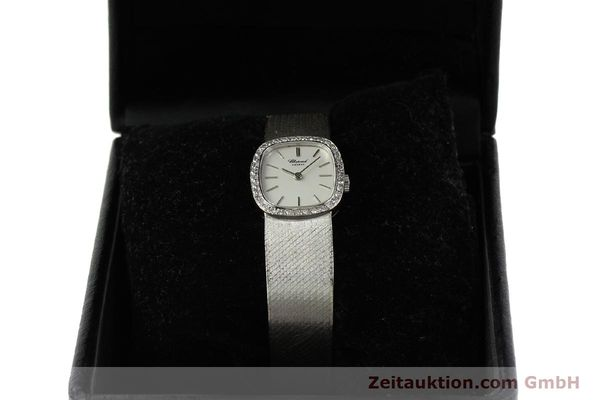 Used luxury watch Chopard * 18 ct white gold manual winding Kal. 846  | 142957 07