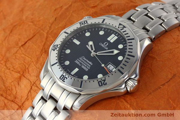 Used luxury watch Omega Seamaster steel automatic Kal. 1120  | 142958 01