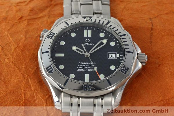 Used luxury watch Omega Seamaster steel automatic Kal. 1120  | 142958 15
