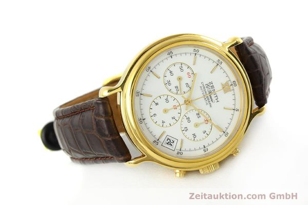 Used luxury watch Zenith Elprimero chronograph gold-plated automatic Kal. 400 Ref. 20.0020.400  | 142959 03