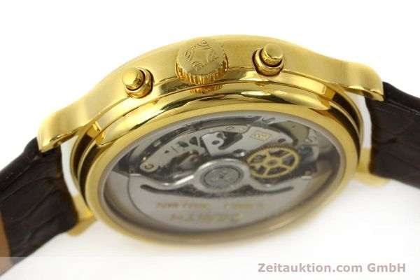 Used luxury watch Zenith Elprimero chronograph gold-plated automatic Kal. 400 Ref. 20.0020.400  | 142959 08