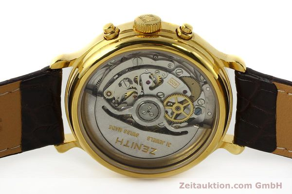Used luxury watch Zenith Elprimero chronograph gold-plated automatic Kal. 400 Ref. 20.0020.400  | 142959 09