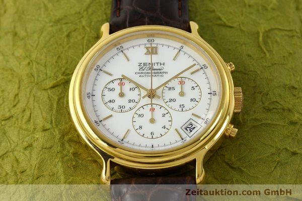 Used luxury watch Zenith Elprimero chronograph gold-plated automatic Kal. 400 Ref. 20.0020.400  | 142959 13