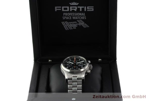 Used luxury watch Fortis B42 chronograph steel automatic Kal. ETA 7750 Ref. 635.10.141.3  | 142961 07