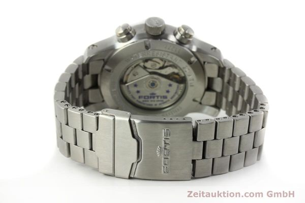 Used luxury watch Fortis B42 chronograph steel automatic Kal. ETA 7750 Ref. 635.10.141.3  | 142961 11
