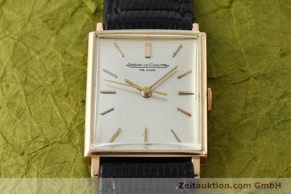 Used luxury watch Jaeger Le Coultre * 18 ct gold manual winding Kal. 819/C  | 142963 13