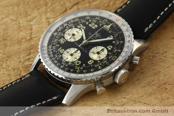 Used luxury watch Breitling Navitimer chronograph steel manual winding Kal. Venus 178 Ref. 809 VINTAGE  | 142968 01