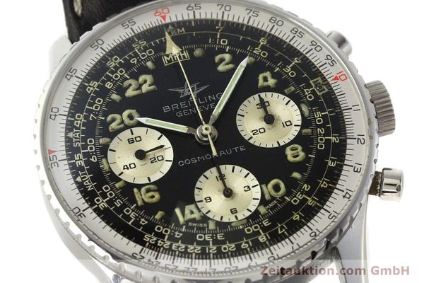 Used luxury watch Breitling Navitimer chronograph steel manual winding Kal. Venus 178 Ref. 809 VINTAGE  | 142968 02