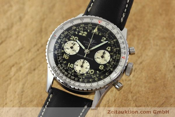 Used luxury watch Breitling Navitimer chronograph steel manual winding Kal. Venus 178 Ref. 809 VINTAGE  | 142968 04