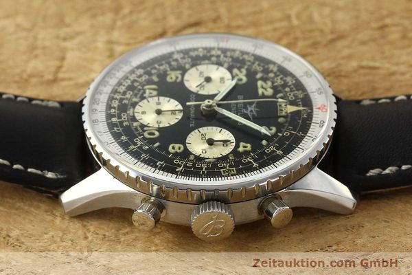 Used luxury watch Breitling Navitimer chronograph steel manual winding Kal. Venus 178 Ref. 809 VINTAGE  | 142968 05