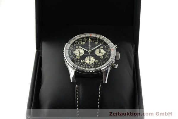 Used luxury watch Breitling Navitimer chronograph steel manual winding Kal. Venus 178 Ref. 809 VINTAGE  | 142968 07