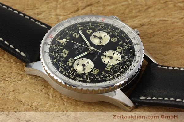 Used luxury watch Breitling Navitimer chronograph steel manual winding Kal. Venus 178 Ref. 809 VINTAGE  | 142968 13