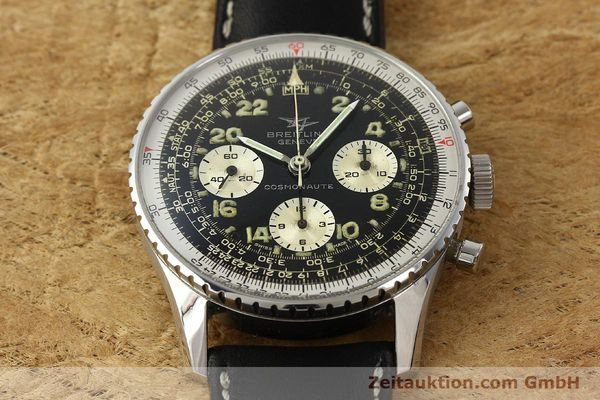 Used luxury watch Breitling Navitimer chronograph steel manual winding Kal. Venus 178 Ref. 809 VINTAGE  | 142968 14