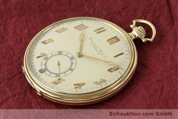 Used luxury watch IWC Taschenuhr 14 ct yellow gold manual winding  | 142969 01