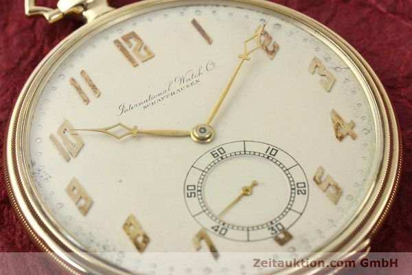 Used luxury watch IWC Taschenuhr 14 ct yellow gold manual winding  | 142969 02