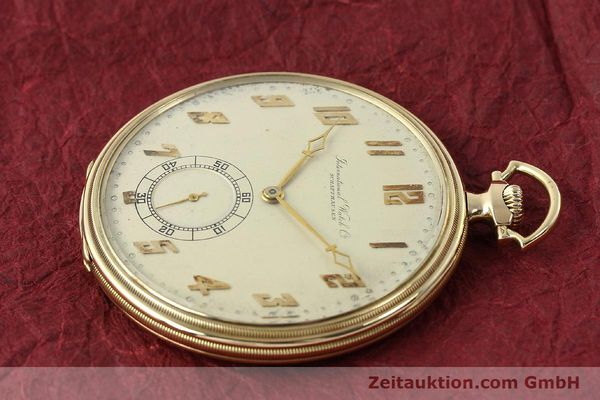 Used luxury watch IWC Taschenuhr 14 ct yellow gold manual winding  | 142969 03