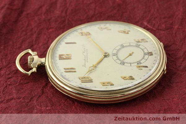 Used luxury watch IWC Taschenuhr 14 ct yellow gold manual winding  | 142969 05