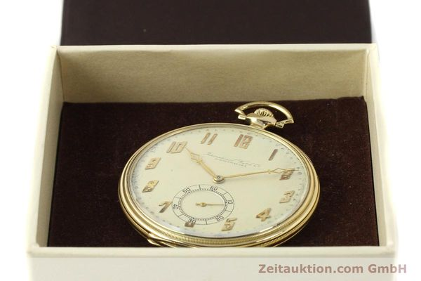 Used luxury watch IWC Taschenuhr 14 ct yellow gold manual winding  | 142969 07