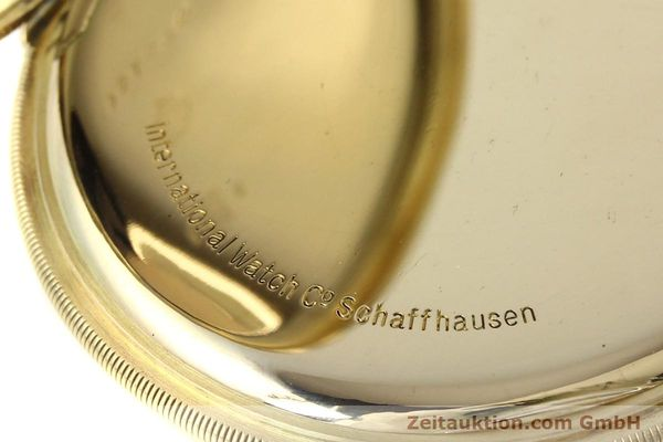 Used luxury watch IWC Taschenuhr 14 ct yellow gold manual winding  | 142969 11