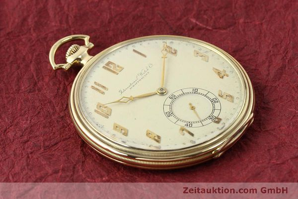 Used luxury watch IWC Taschenuhr 14 ct yellow gold manual winding  | 142969 15