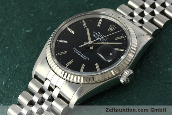 Used luxury watch Rolex Datejust steel / white gold automatic Kal. 3035 Ref. 16014  | 142971 01