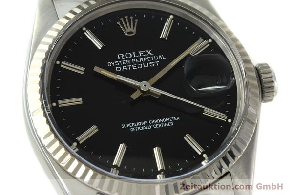 Used luxury watch Rolex Datejust steel / white gold automatic Kal. 3035 Ref. 16014  | 142971 02