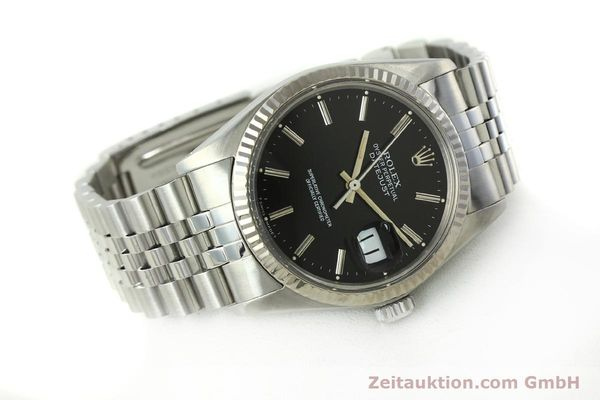 Used luxury watch Rolex Datejust steel / white gold automatic Kal. 3035 Ref. 16014  | 142971 03