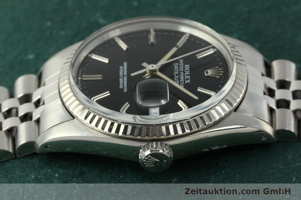 Used luxury watch Rolex Datejust steel / white gold automatic Kal. 3035 Ref. 16014  | 142971 05