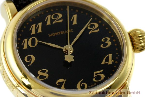 Used luxury watch Montblanc Meisterstück gold-plated quartz Kal. 4810102 ETA 956102 Ref. 7006  | 142972 02