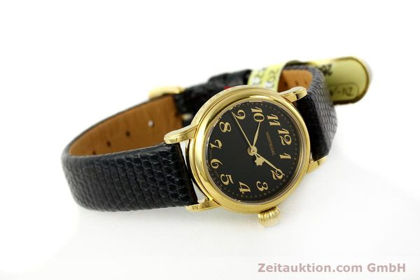 Used luxury watch Montblanc Meisterstück gold-plated quartz Kal. 4810102 ETA 956102 Ref. 7006  | 142972 03