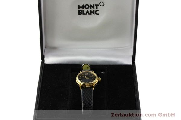 Used luxury watch Montblanc Meisterstück gold-plated quartz Kal. 4810102 ETA 956102 Ref. 7006  | 142972 07