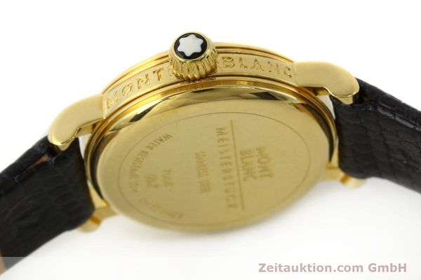 Used luxury watch Montblanc Meisterstück gold-plated quartz Kal. 4810102 ETA 956102 Ref. 7006  | 142972 08