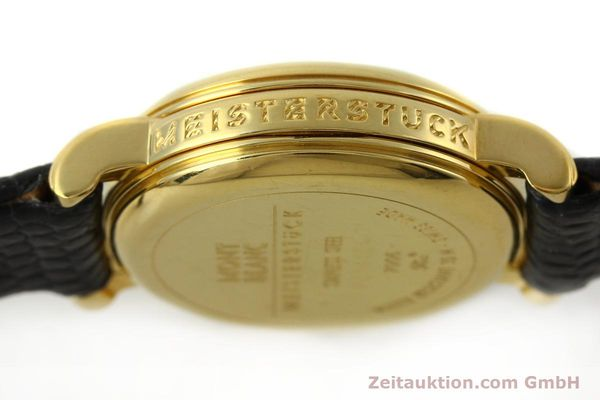 Used luxury watch Montblanc Meisterstück gold-plated quartz Kal. 4810102 ETA 956102 Ref. 7006  | 142972 10