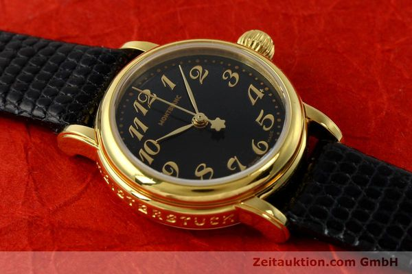 Used luxury watch Montblanc Meisterstück gold-plated quartz Kal. 4810102 ETA 956102 Ref. 7006  | 142972 13