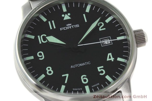Used luxury watch Fortis Flieger steel automatic Kal. ETA 2824-2  | 142973 02