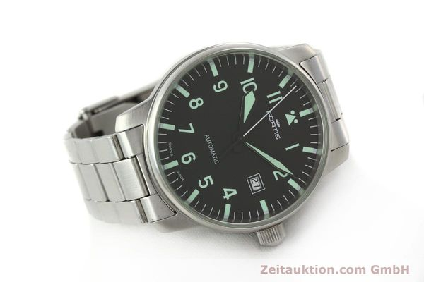 Used luxury watch Fortis Flieger steel automatic Kal. ETA 2824-2  | 142973 03