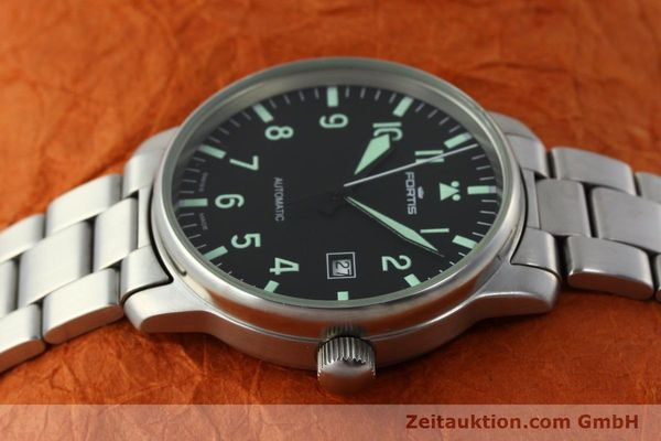 Used luxury watch Fortis Flieger steel automatic Kal. ETA 2824-2  | 142973 05