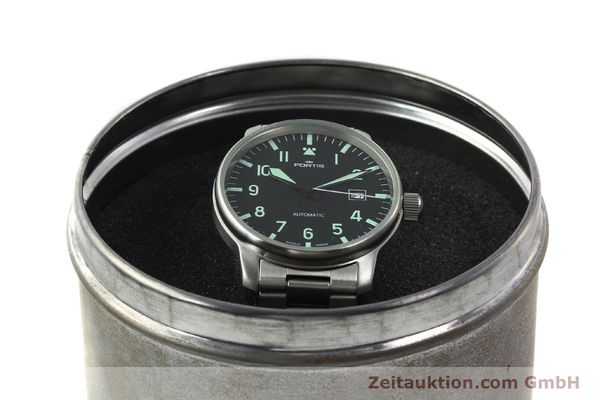 Used luxury watch Fortis Flieger steel automatic Kal. ETA 2824-2  | 142973 07