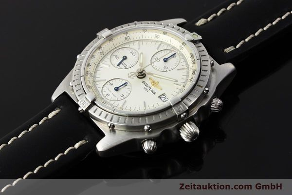Used luxury watch Breitling Chronomat chronograph steel automatic Kal. B13 ETA 7750 Ref. A13050 LIMITED EDITION | 142974 01