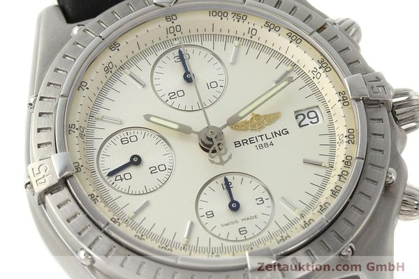Used luxury watch Breitling Chronomat chronograph steel automatic Kal. B13 ETA 7750 Ref. A13050 LIMITED EDITION | 142974 02
