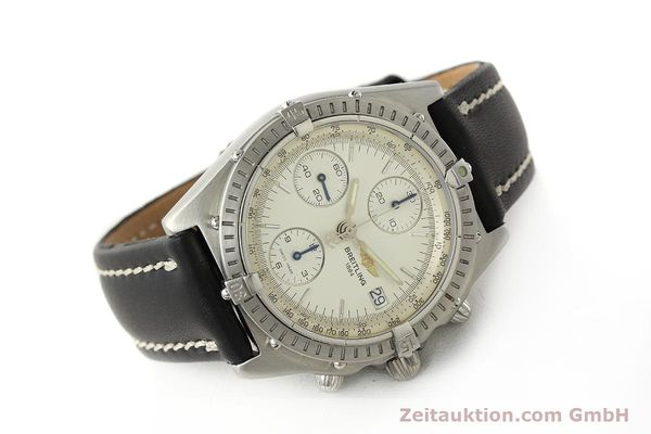 Used luxury watch Breitling Chronomat chronograph steel automatic Kal. B13 ETA 7750 Ref. A13050 LIMITED EDITION | 142974 03