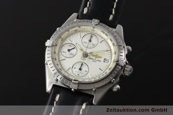 Used luxury watch Breitling Chronomat chronograph steel automatic Kal. B13 ETA 7750 Ref. A13050 LIMITED EDITION | 142974 04
