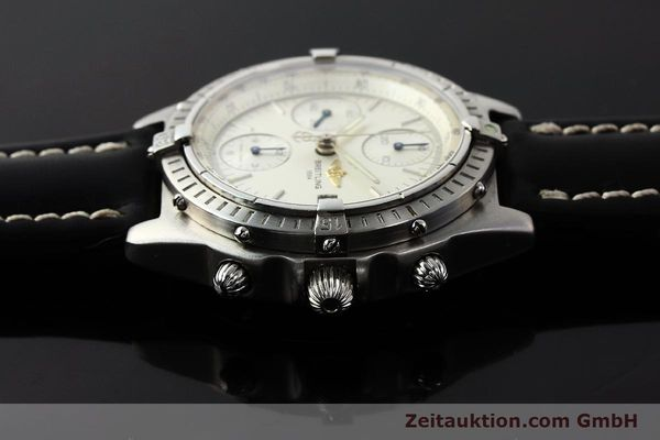 Used luxury watch Breitling Chronomat chronograph steel automatic Kal. B13 ETA 7750 Ref. A13050 LIMITED EDITION | 142974 05