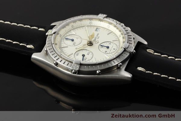 Used luxury watch Breitling Chronomat chronograph steel automatic Kal. B13 ETA 7750 Ref. A13050 LIMITED EDITION | 142974 12