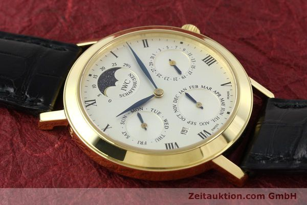 Used luxury watch IWC Ewiger Kalender 18 ct gold manual winding Kal. 84961 Ref. 2050  | 142977 17