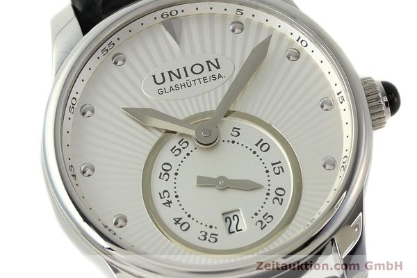 Used luxury watch Union Glashütte Seris steel automatic Kal. U2895-2 ETA 2895-2 Ref. D004.228  | 142979 02