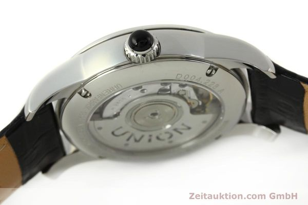 Used luxury watch Union Glashütte Seris steel automatic Kal. U2895-2 ETA 2895-2 Ref. D004.228  | 142979 08