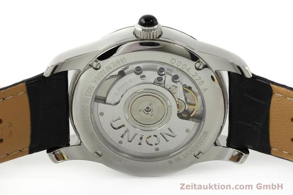 Used luxury watch Union Glashütte Seris steel automatic Kal. U2895-2 ETA 2895-2 Ref. D004.228  | 142979 09