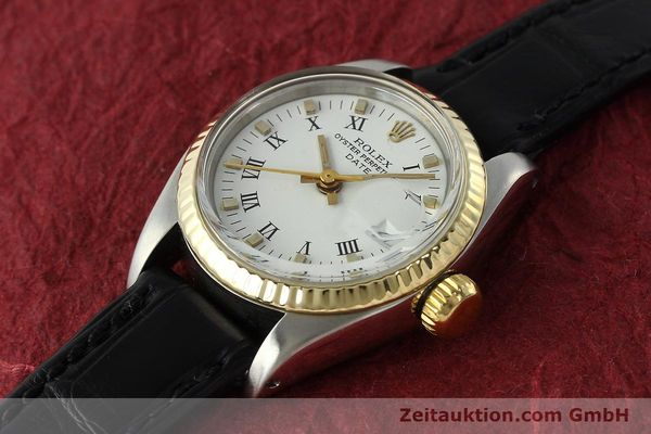 Used luxury watch Rolex Lady Date steel / gold automatic Kal. 2030 Ref. 6917  | 142980 01